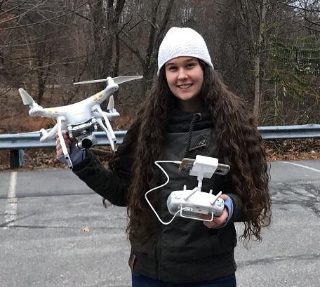 Alexandra Evans, NRESS Ph.D. student