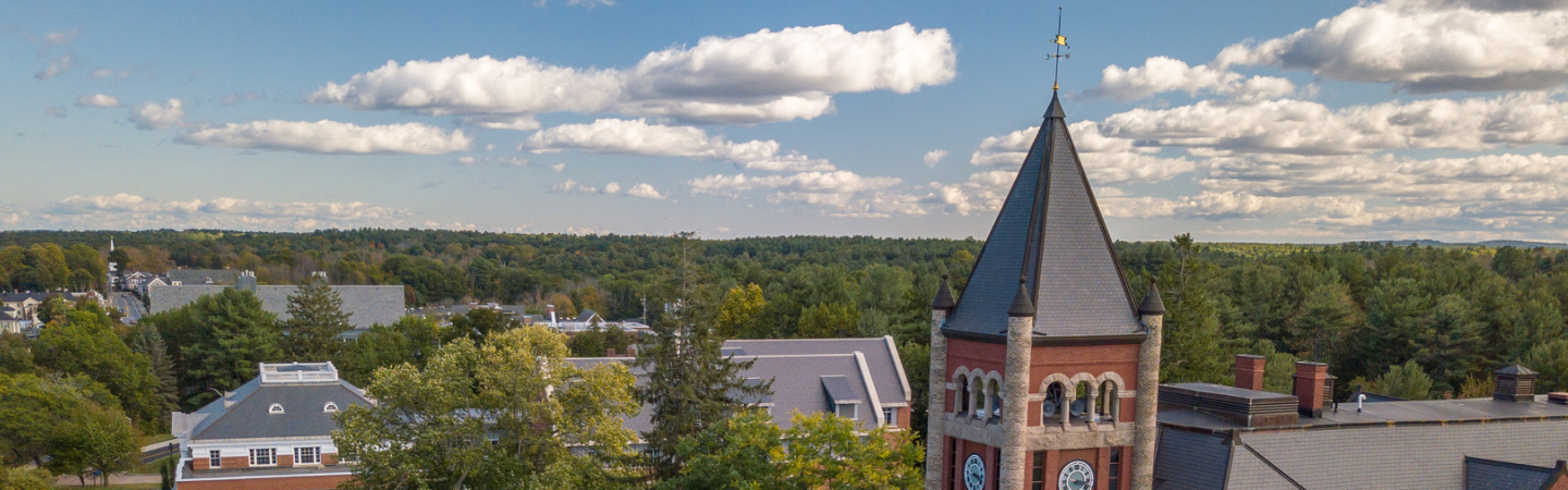 The UNH Grad School Webinar Series Is an opportunity to learn about all that UNH has to offer