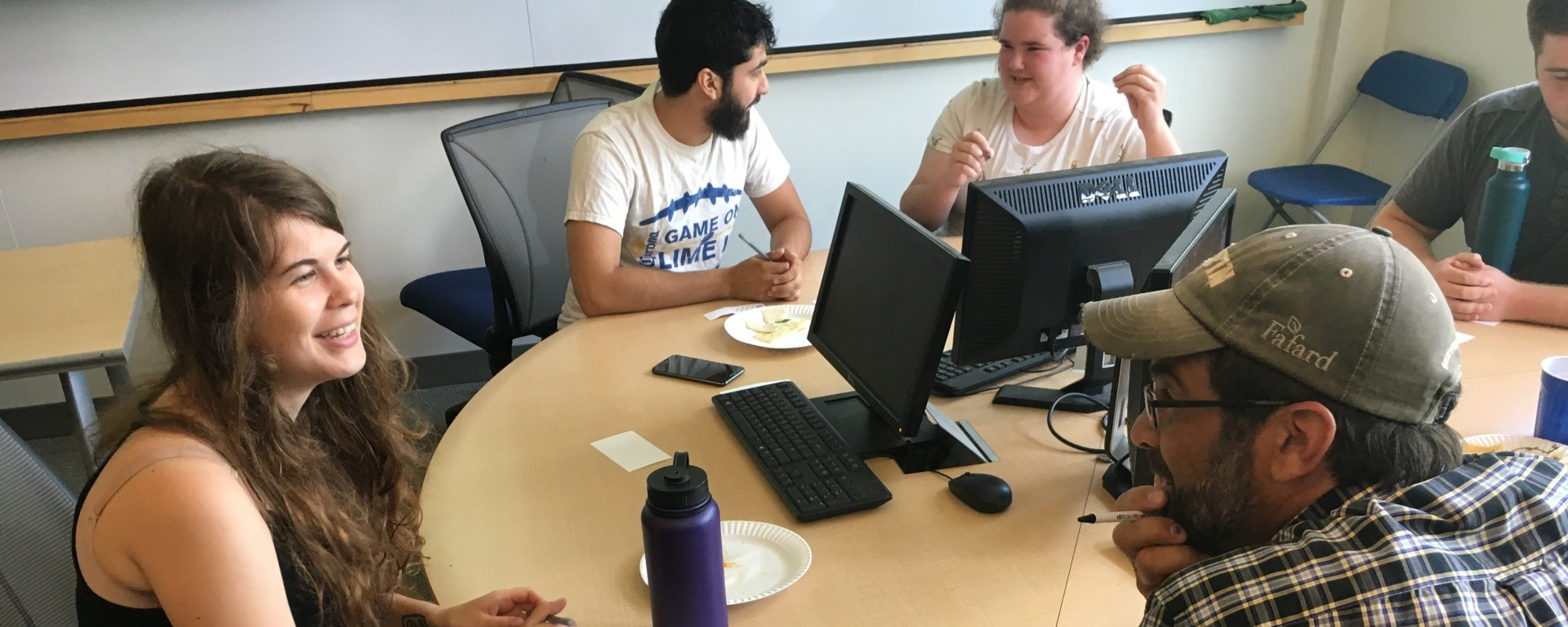Students in Summer Research Workshop