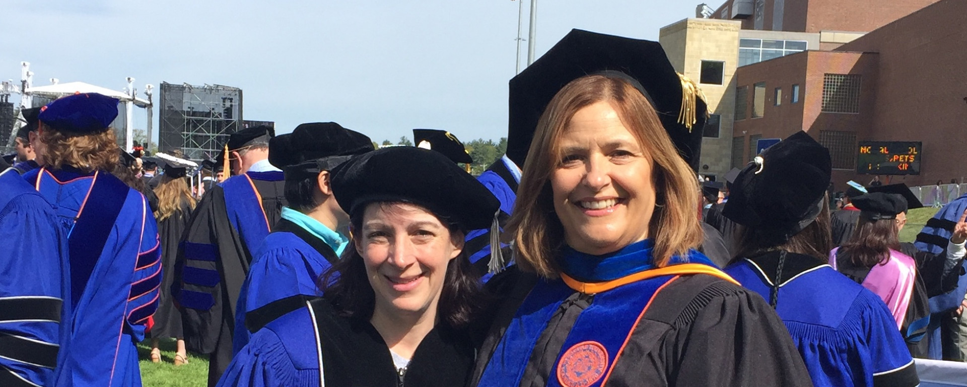 Hard work pays off for Erika M. Baril, Ph.D.